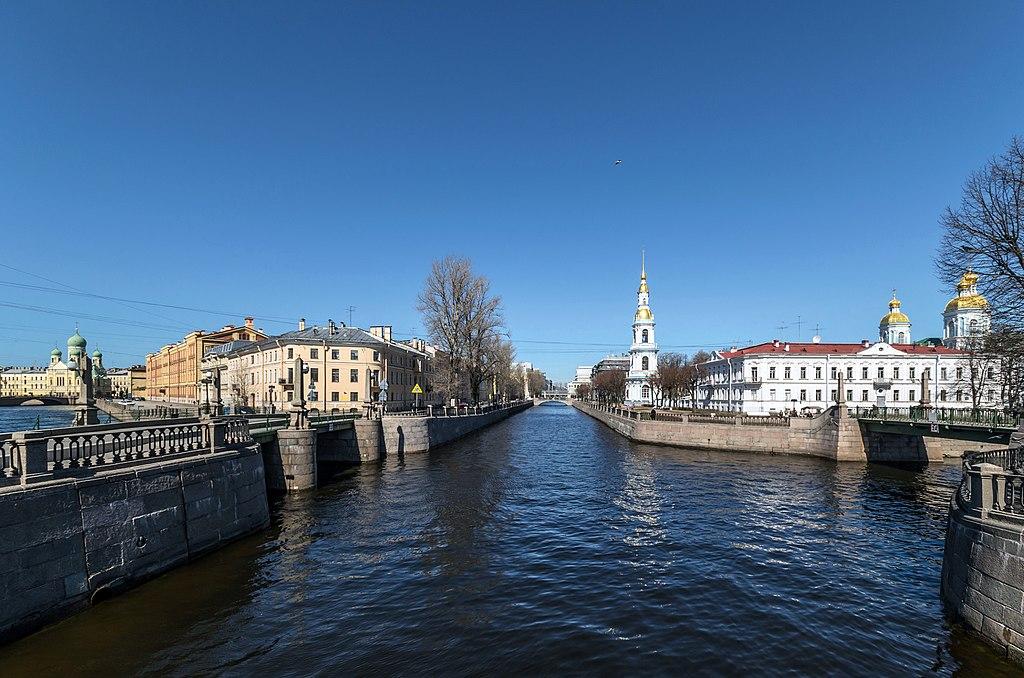 Крюков канал в Санкт-Петербурге. Фото: Florstein (WikiPhotoSpace)