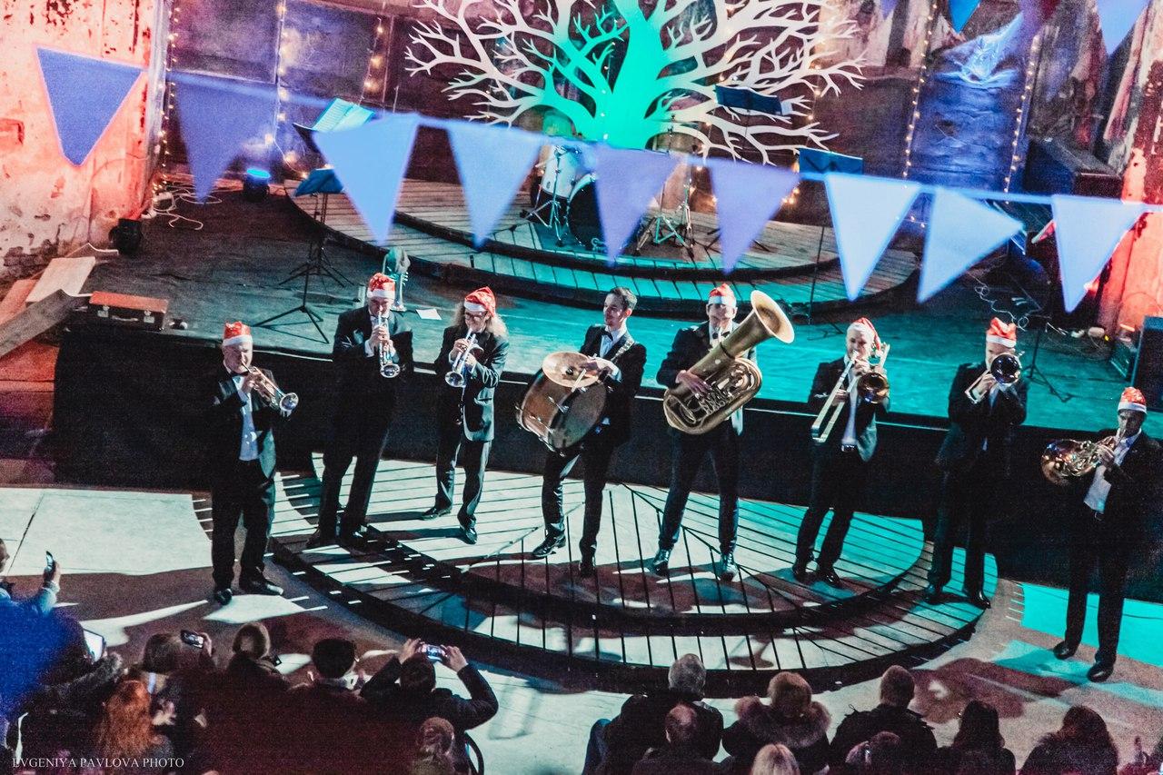 Праздничный джазовый концерт Olympic Brass. Фото: Дмитрий Владимиров