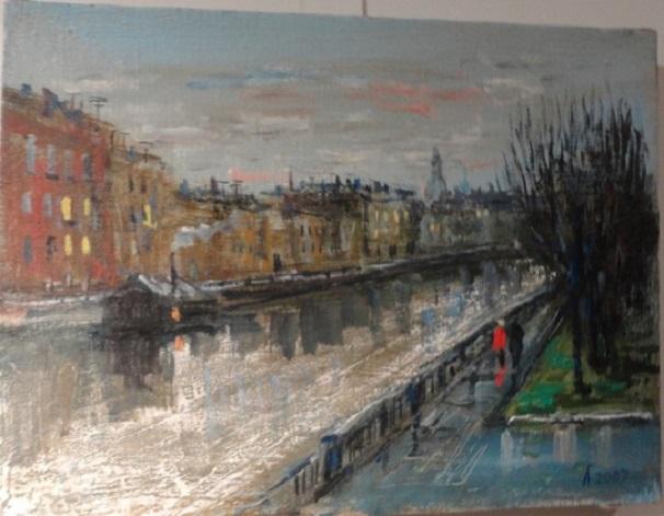В галерее 14/45 — Первая персональная выставка Александра Родионовича