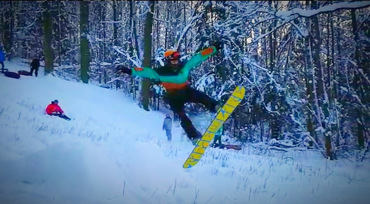 Отборочный альбом ENERGY in the MOUNTAIN: Snowboard. Фото: Алексей Сараев
