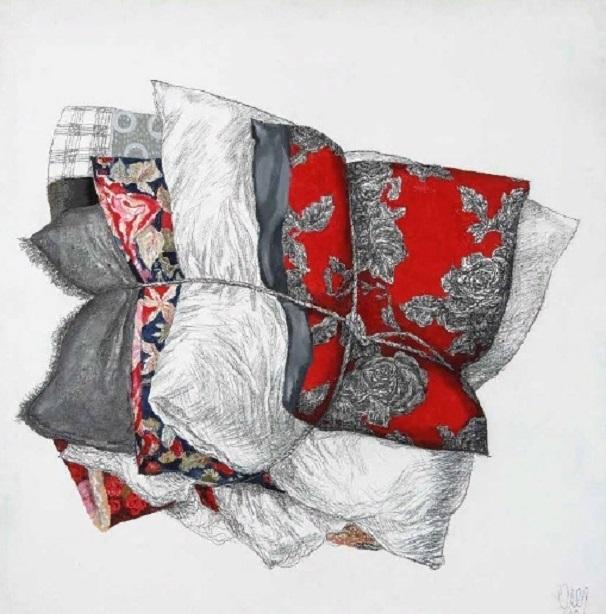 Выставка Олега Вуколова в Русском музее — более 50 картин художника о подушках