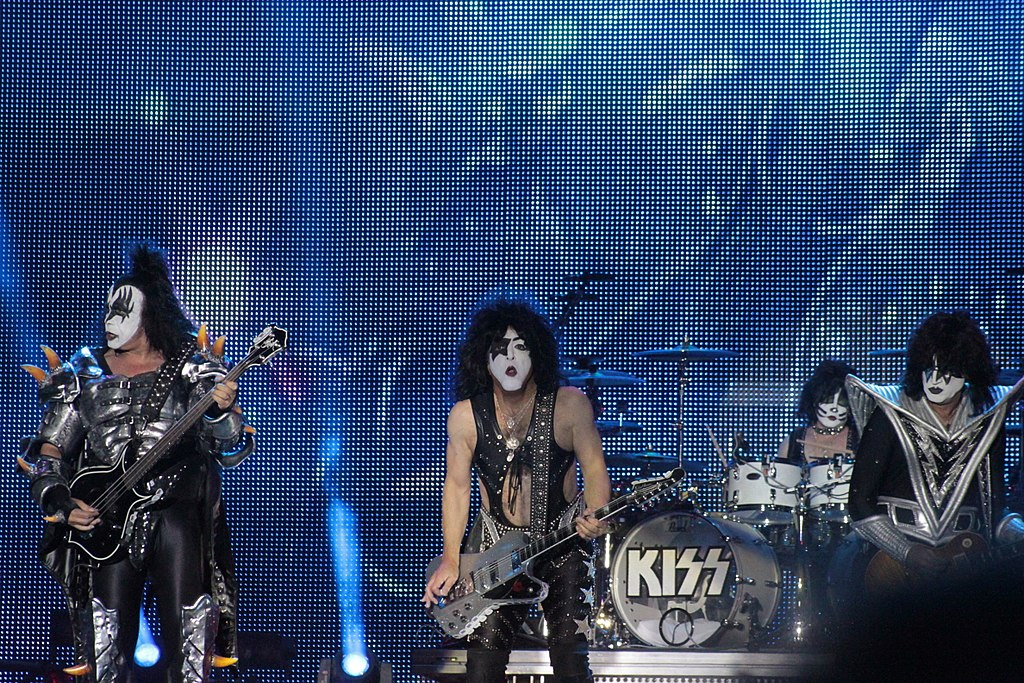 Kiss at Hellfest in Clisson, France, 2013 г. Фото: Llann Wé² (Wikimedia Commons)
