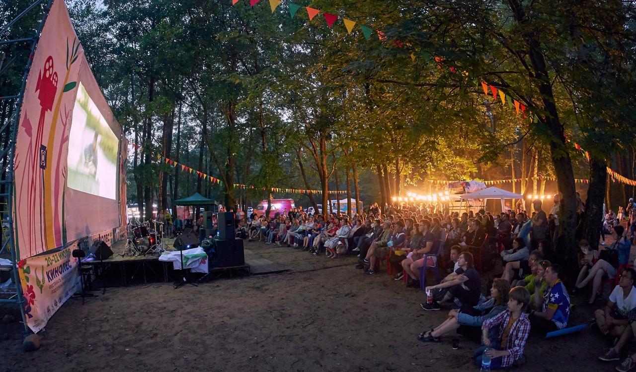 """IV Фестиваль живого кино под открытым небом """"Кинолес"""" — на пляже с видом на Финский залив"""