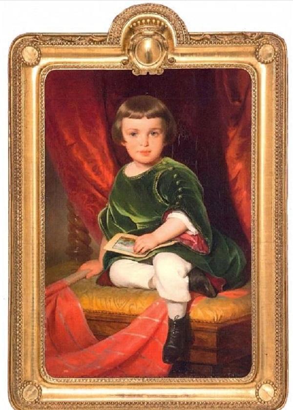 Фридрих фон Амерлинг. Портрет графа Николая Дмитриевича Шереметева. 1843. Холст, масло. 93 х 63,5. ГРМ