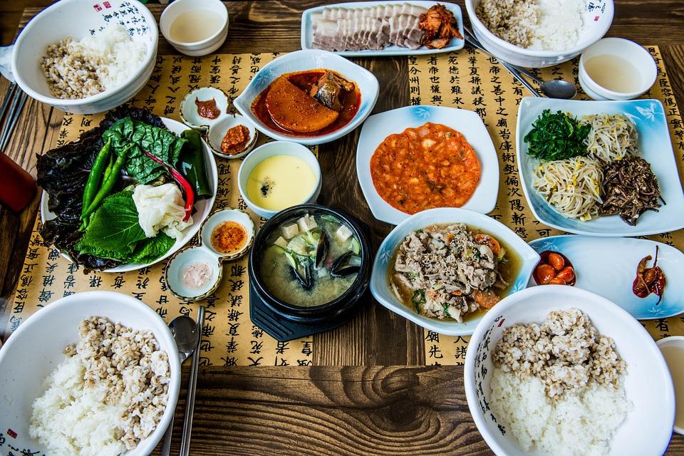 корейская еда. Фото: pixabay.com