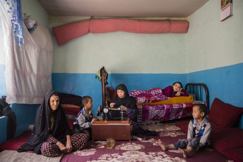 Семья Афганистан, Кабул, 2016 Фотограф: Киана Хайери (МККК)
