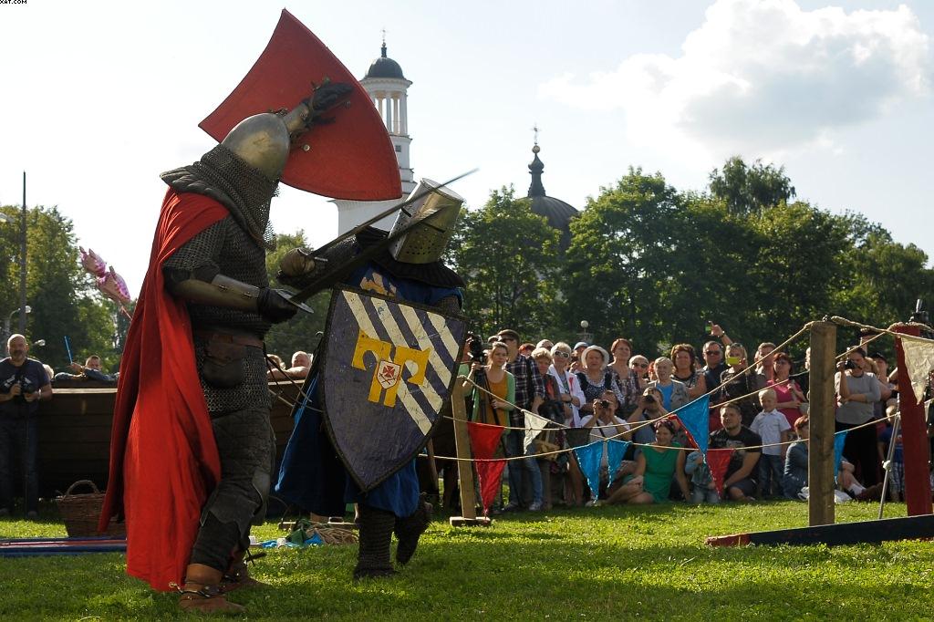 Фольклорный военно-исторический фестиваль, посвящённый Невской битве
