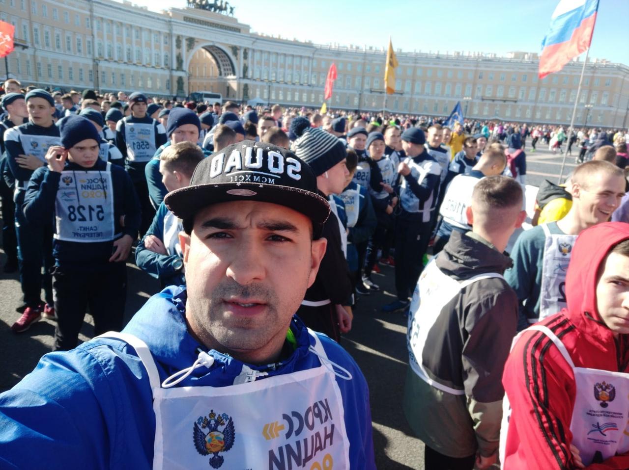 Кросс нации 2021 в Санкт-Петербурге (СПб). Фото: Рамин Осман