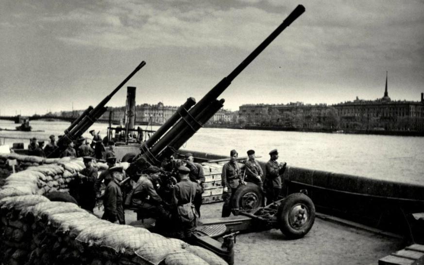 Ленинград в годы блокады, старые фото