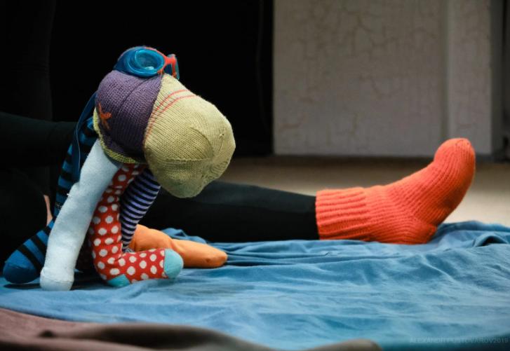 """Спектакль для самых маленьких """"Мой волшебный носок"""""""