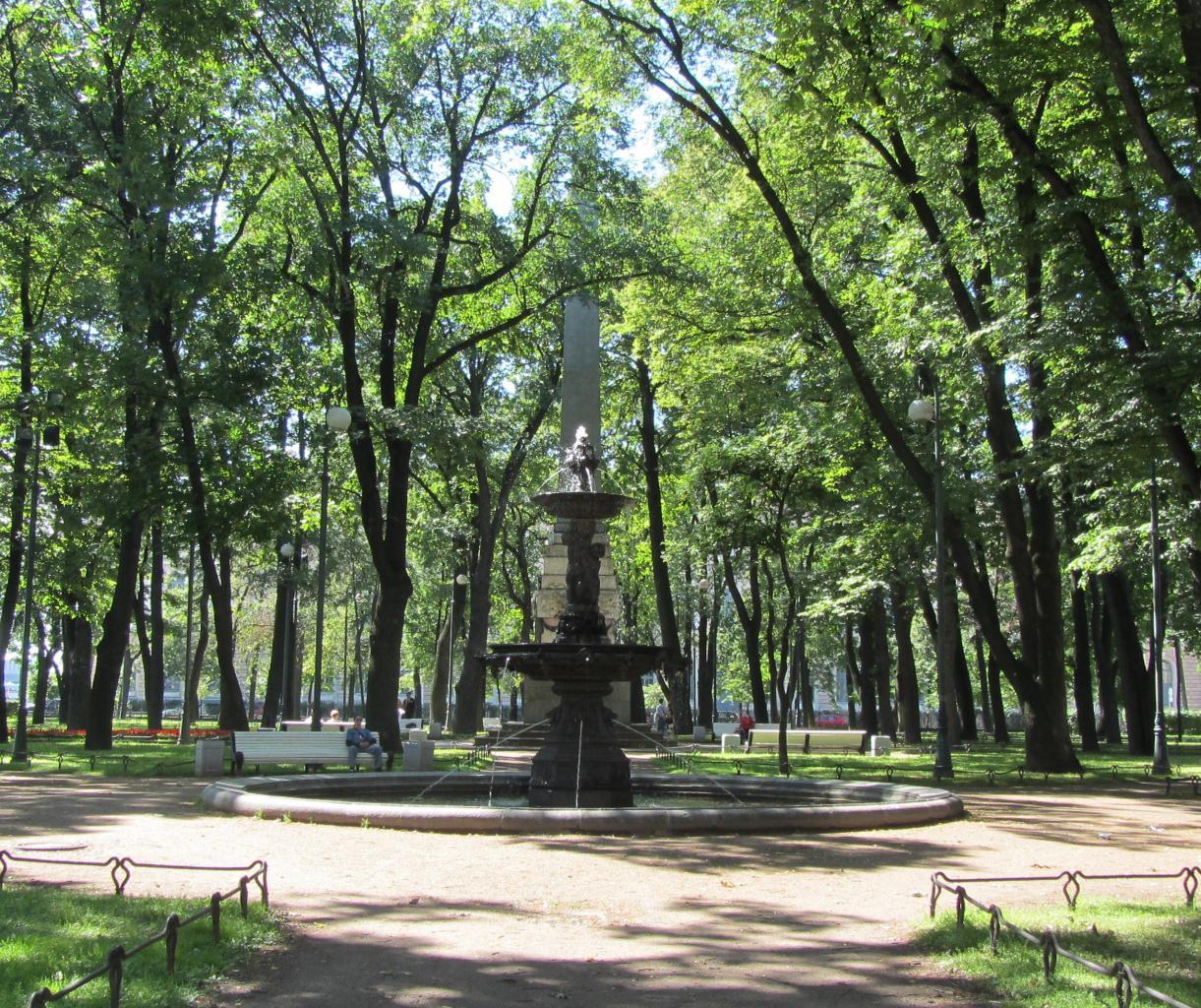 Румянцевский сад. Фото: citywalls.ru