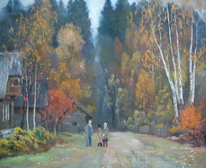 Владимир Прошкин — живописец Ленинградского Союза художников, художник России