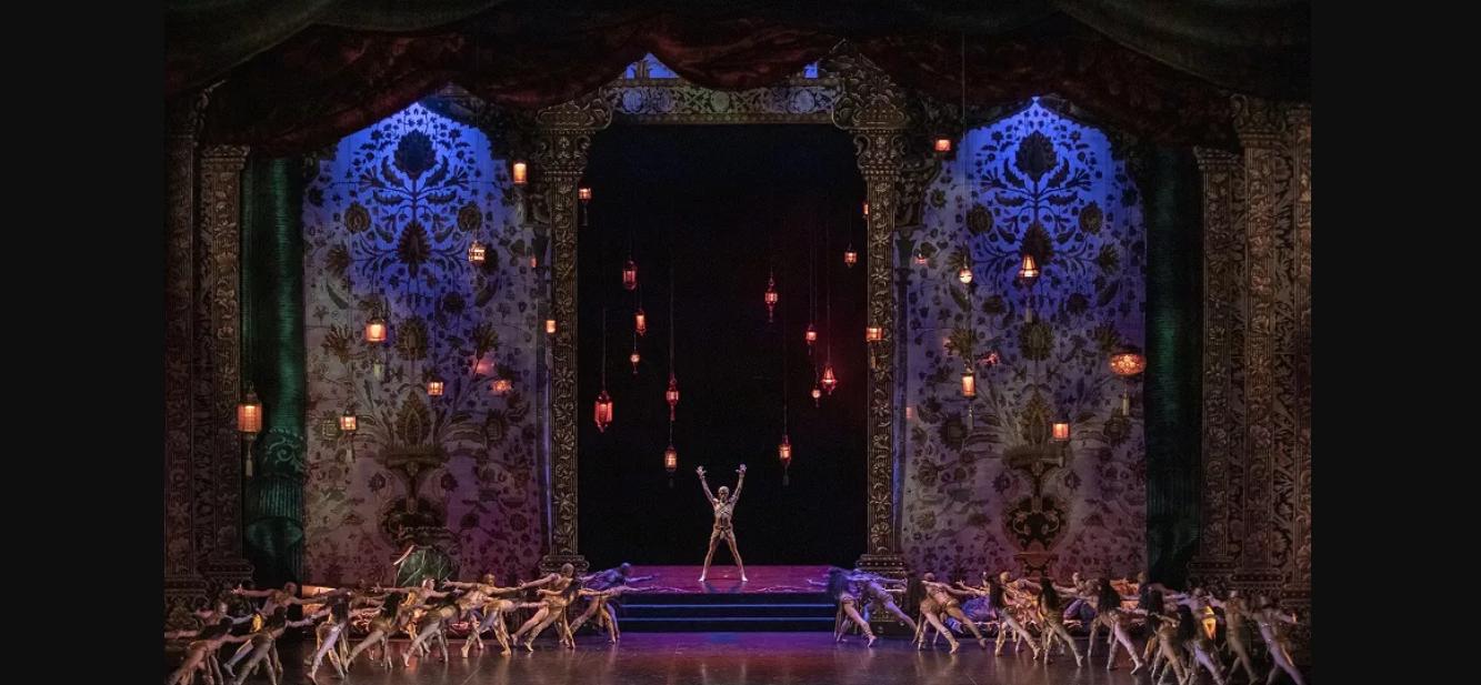 Спектакль Приморской сцены Мариинского театра. Балет «Тысяча и одна ночь»