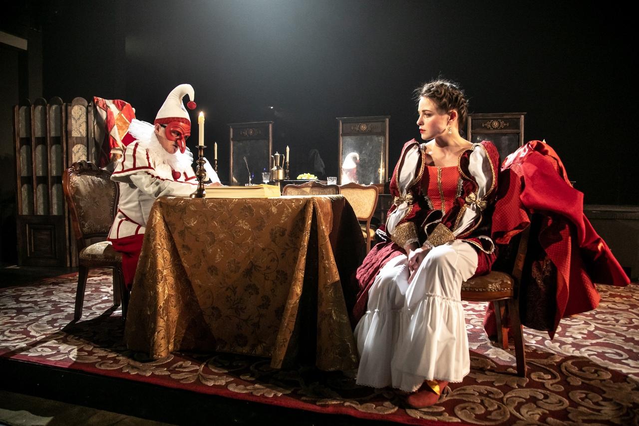 Премьерные показы спектакля «Кабала святош/Мольер»