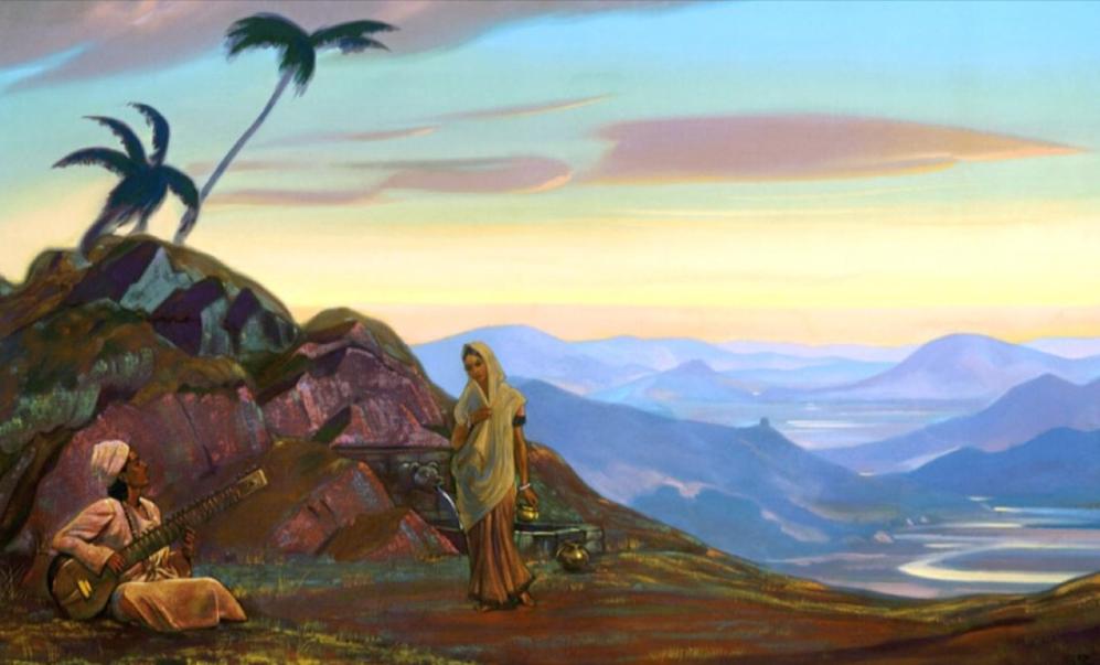 «Зов красоты». Творчество Святослава Рериха
