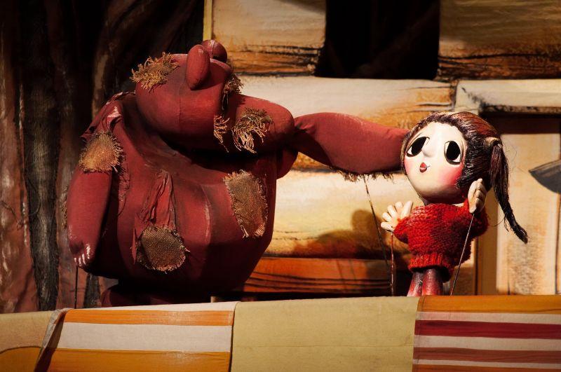 """Спектакль-сказка """"Маша и Медведь"""" для самых маленьких"""