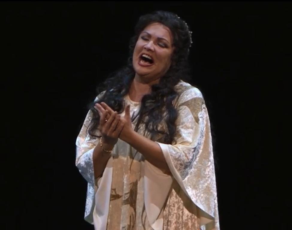 Юбилейный концерт Анны Нетребко на родной сцене