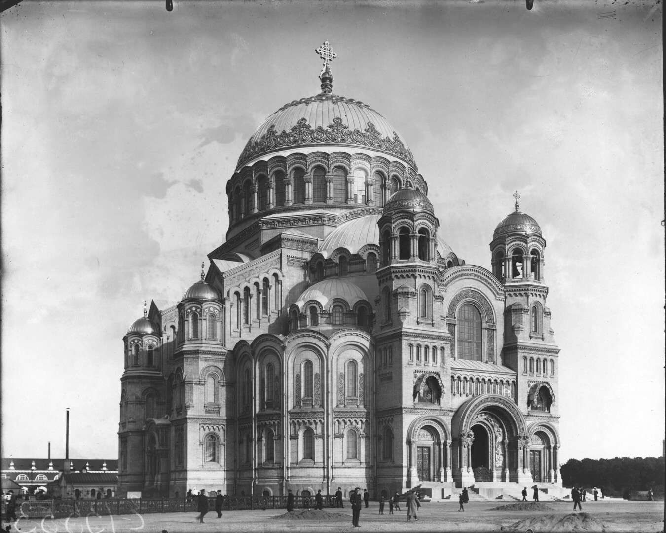 Кронштадский Морской собор. Ателье Буллы, 1913 г.