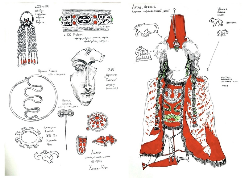 Выставка графики Ольги Тамкович «Зарисовки времени»