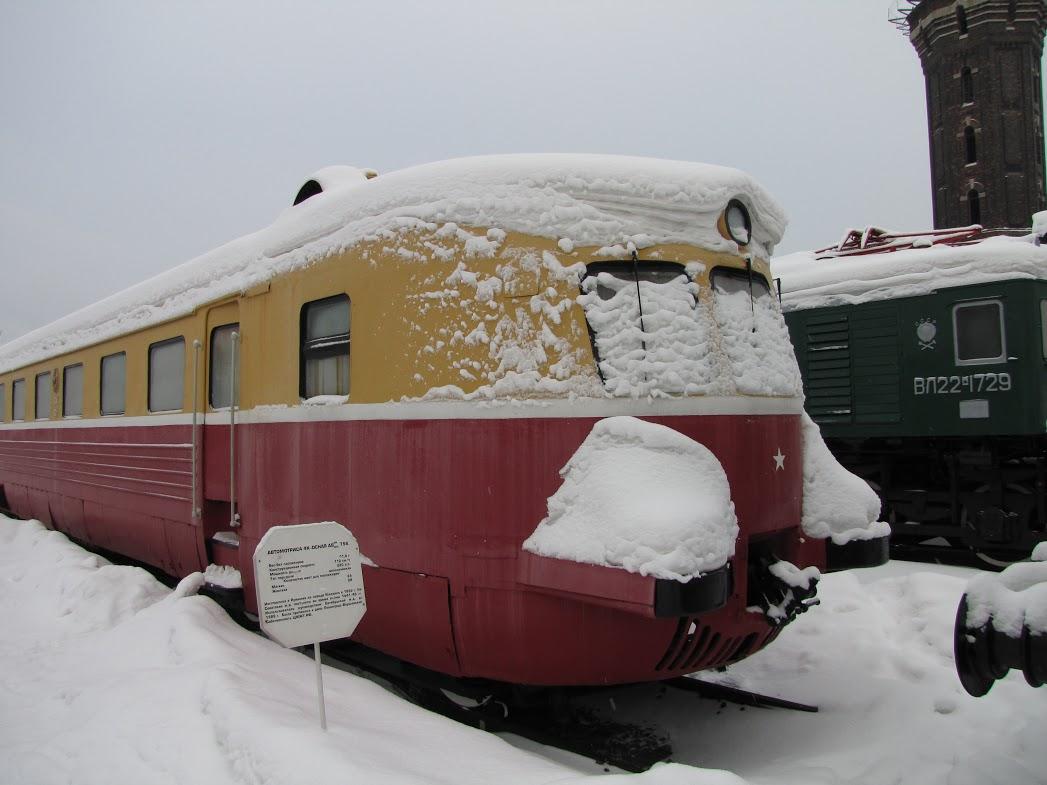 Музей железнодорожной техники. Автор: Peterburg.center