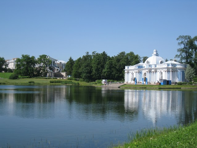 Царское Село. Павильон «Грот». Автор: Peterburg.center