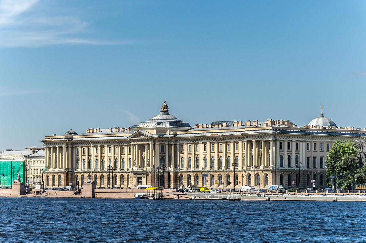 Императорская Академия художеств в Санкт-Петербурге. Автор фото: Florstein (WikiPhotoSpace)