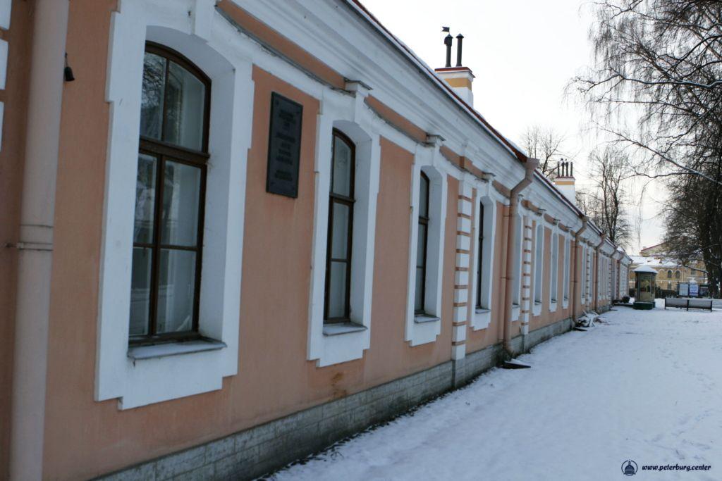 Петропавловская крепость. Инженерный дом фото