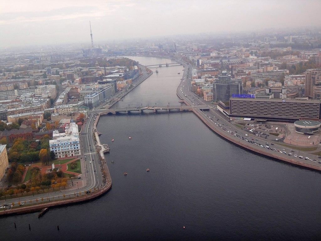 Исток Большой Невки. Фото: Monoklon at Russian Wikipedia