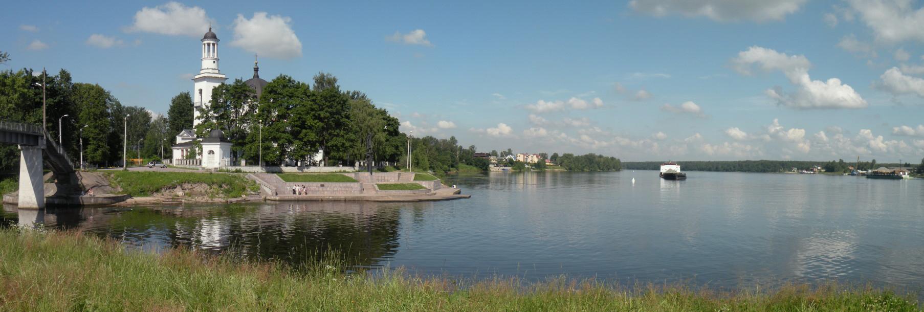 Нева в устье реки Ижоры. Автор фото: Vitold Muratov (Wikimedia Commons)