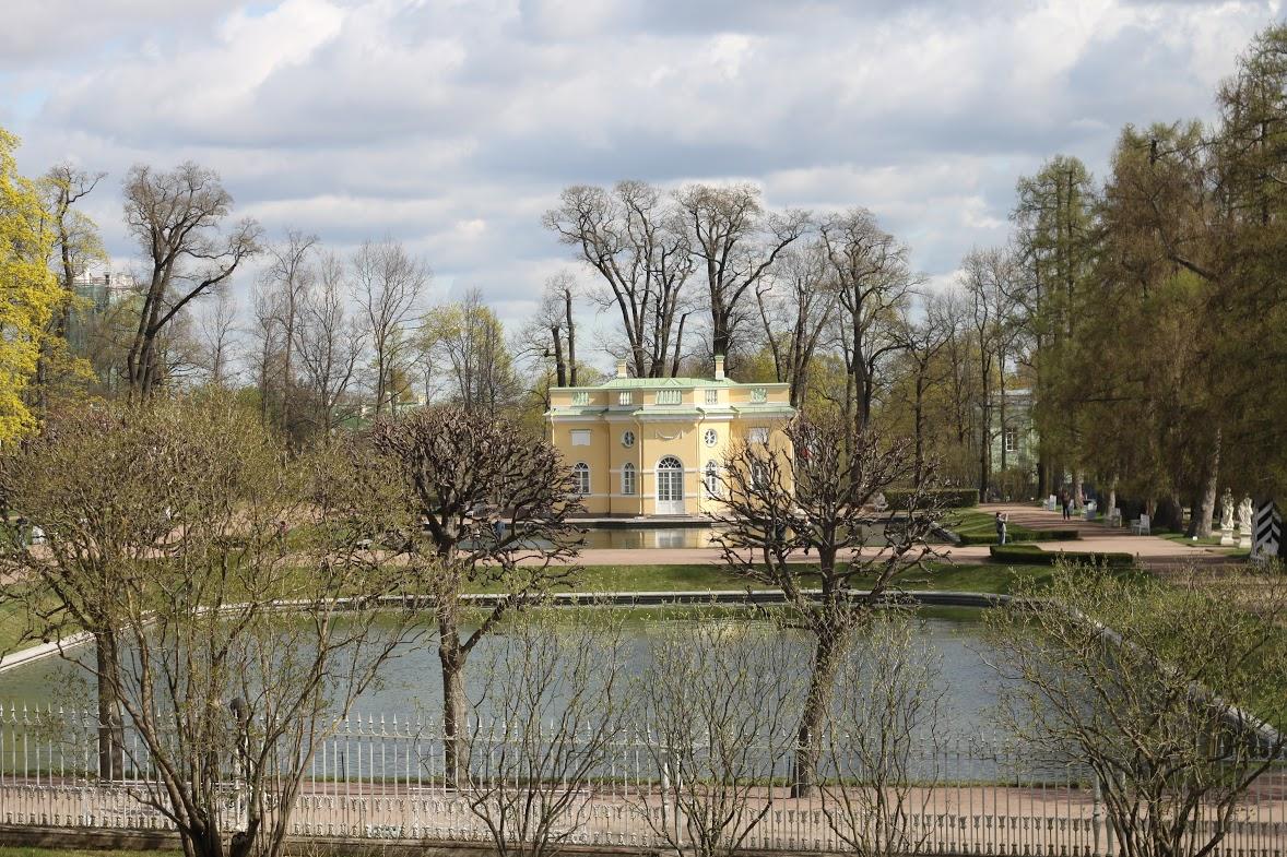 "Павильон ""Верхняя ванна"". Автор: Peterburg.center"
