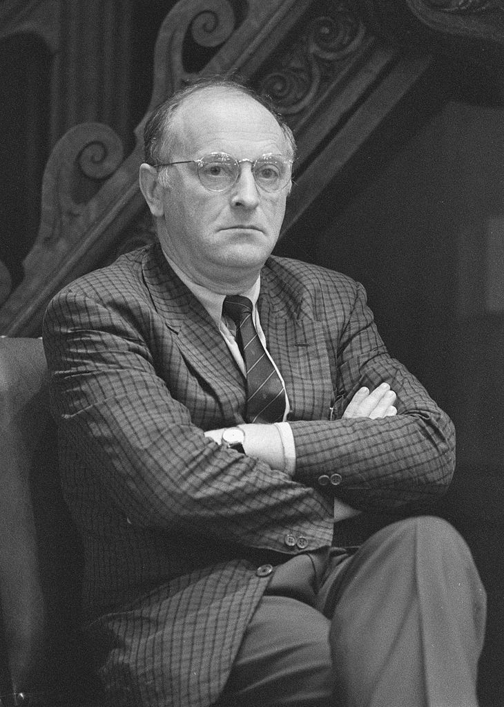 Иосиф Бродский Joseph Brodsky. 31 October 1988 (Wikimedia Commons)