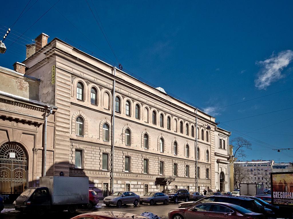 Кадетский корпус Императора Александра II. Фото: Florstein (Wikimedia Commons)