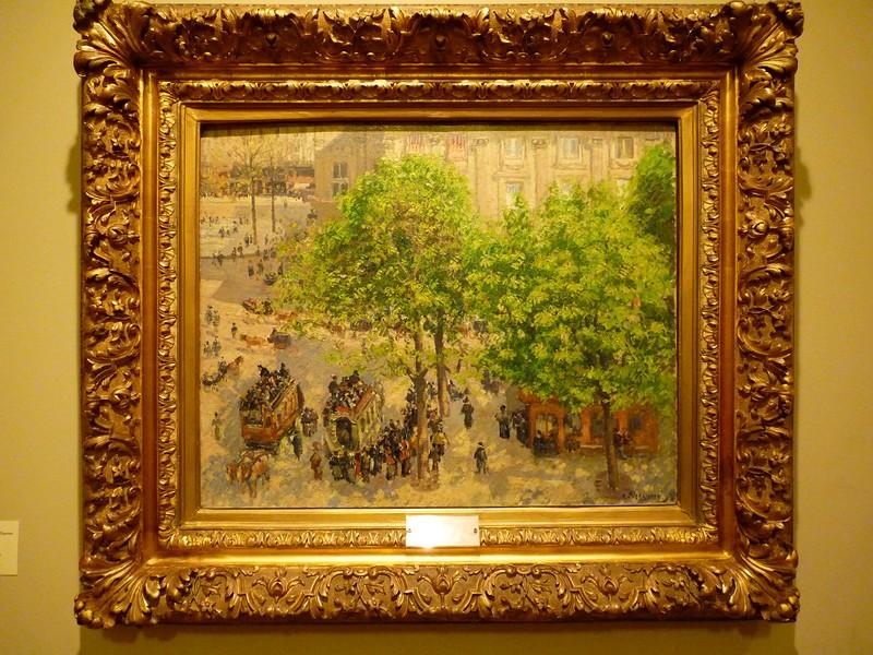 """""""Площадь Французского Театра в Париже"""", Камиль Писсарро, источник фото: http://art-links.livejournal.com/2537986.html"""
