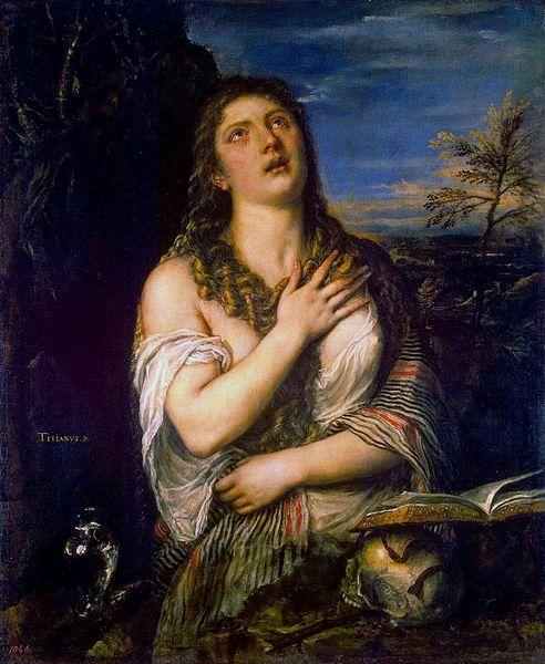 """Кающаяся Мария Магдалина"", Тициан, источник фото: источник фото: Wikimedia Commons"