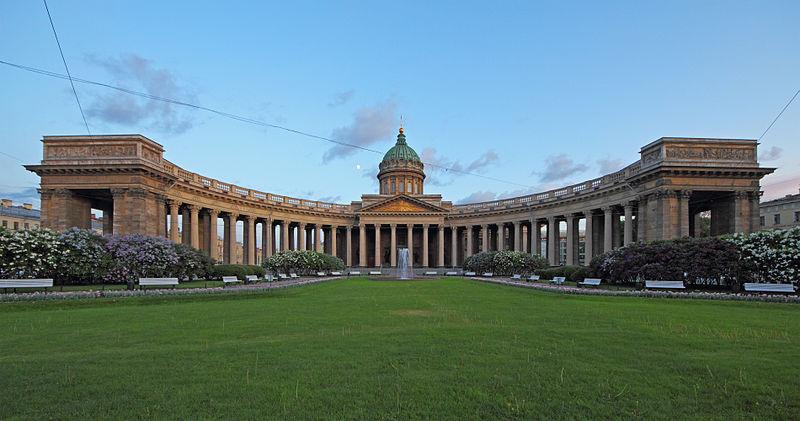 Казанский собор. Author:A.Savin (Wikimedia Commons · WikiPhotoSpace)