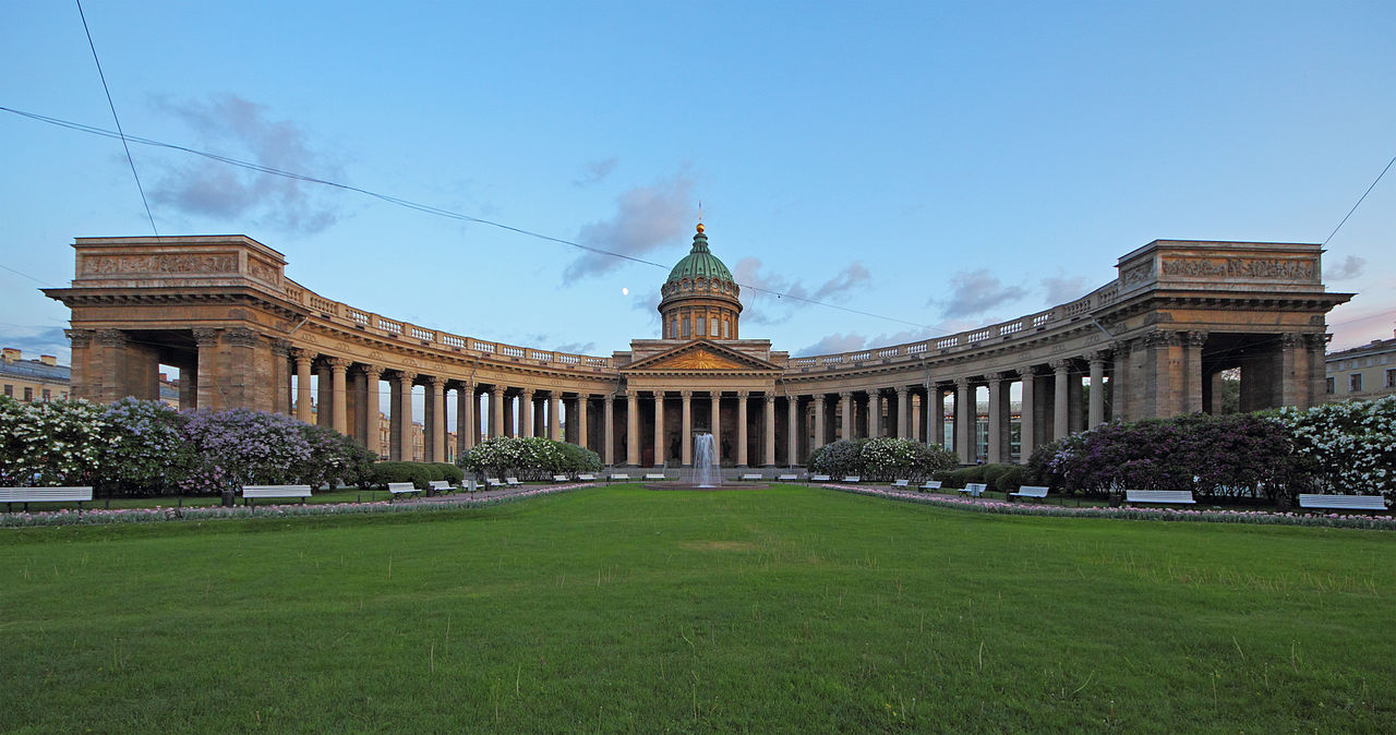 Казанский собор. A.Savin (Wikimedia Commons · WikiPhotoSpace)