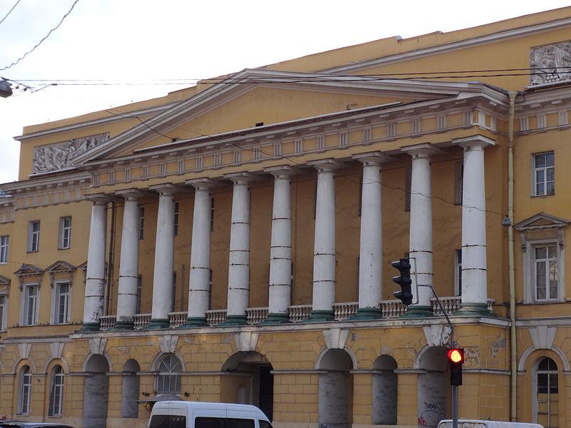 Казармы Павловского полка. Автор:  Надежда Пивоварова,  Wikimedia Commons