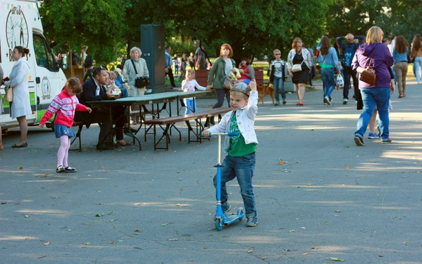 Парк им. И. В. Бабушкина. Автор: Наталья Белых Фото: vk.com/parkskazok