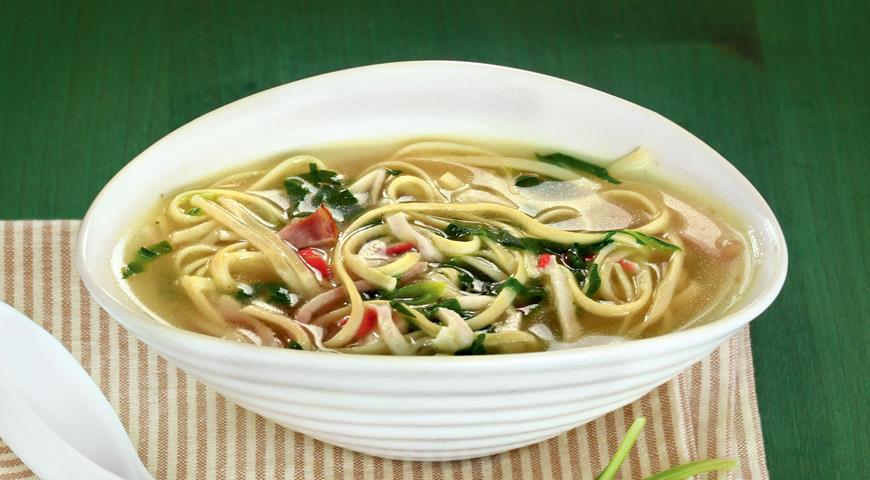 Китайский суп-лапша