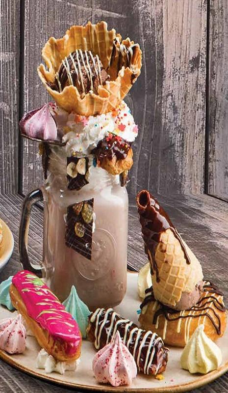 #Кофейня № 1. Choco Candy Shake