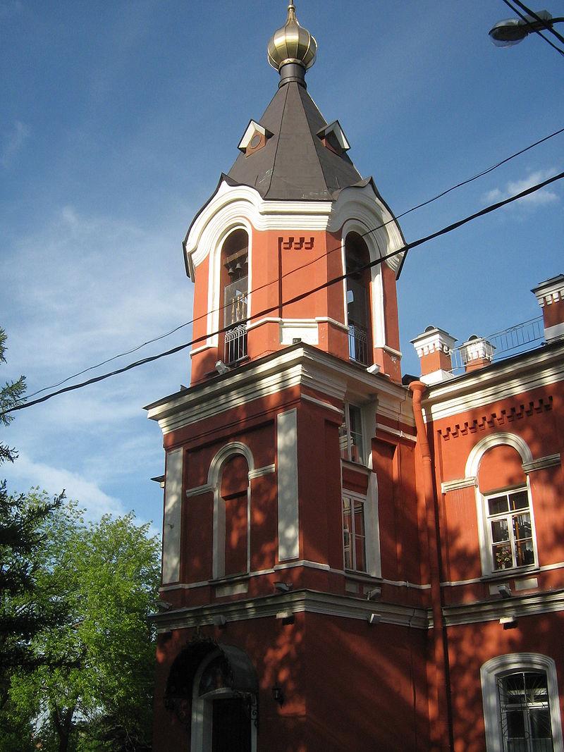 Церковь-школа Вознесения Господня. Автор: Peterburg23, Wikimedia Commons