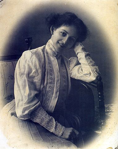 Комиссаржевская, Вера Фёдоровна. Автор: Максим Петрович Дмитриев