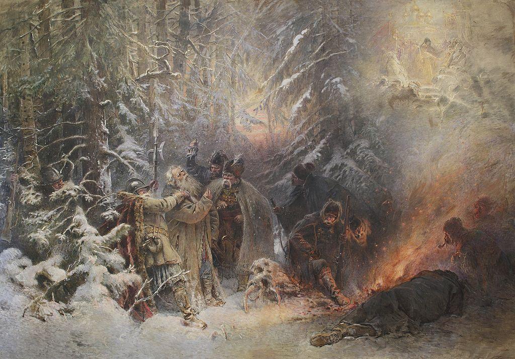 Константин Маковский. Иван Сусанин. 1914 г. Источник: Wikimedia Commons