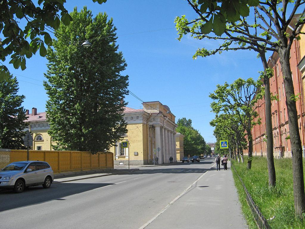Улица Красного Курсанта. Фото: Екатерина Борисова (Wikimedia Commons)