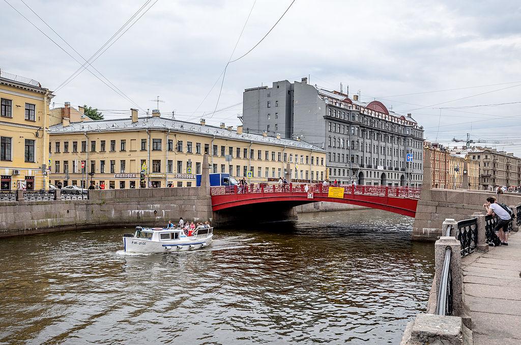 Красный мост. «© Alex Florstein Fedorov, Wikimedia Commons»