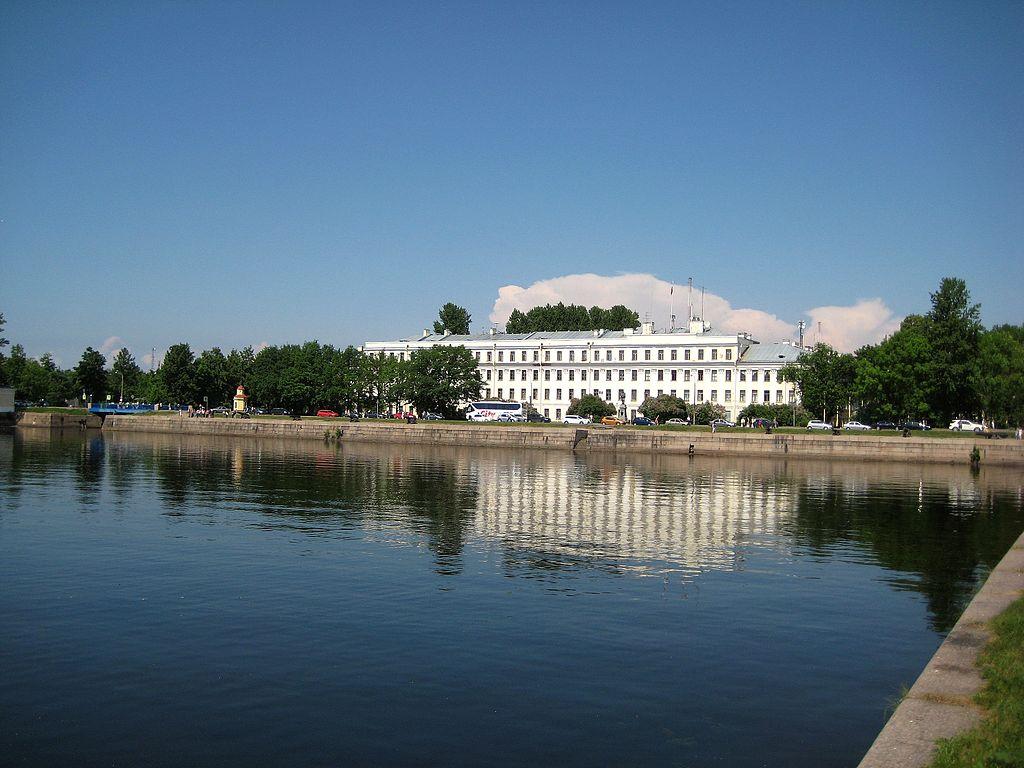 Кронштадт, Итальянский пруд (южнее Итальянского дворца). Фото: Александров