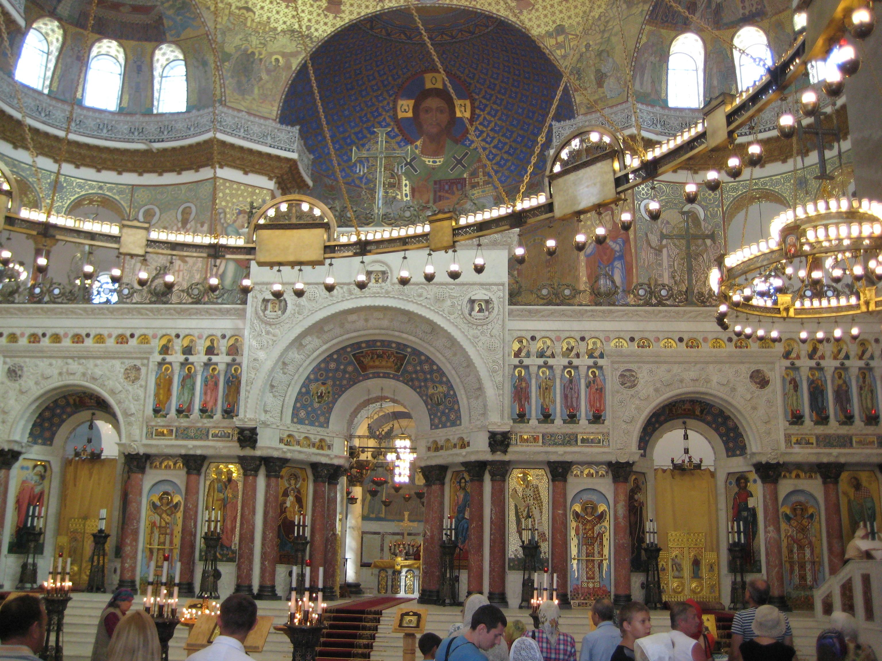 морской собор в кронштадте фото