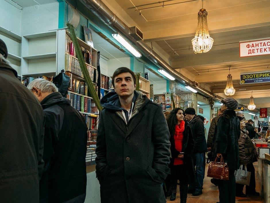 Книжная ярмарка ДК имени Крупской