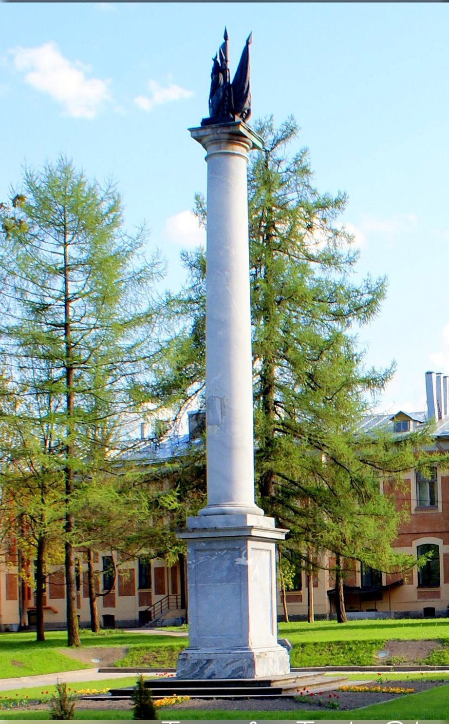 Крымская (Сибирская) колонна, г. Пушкин, Парковая ул., 64. Фото: tsarselo.ru