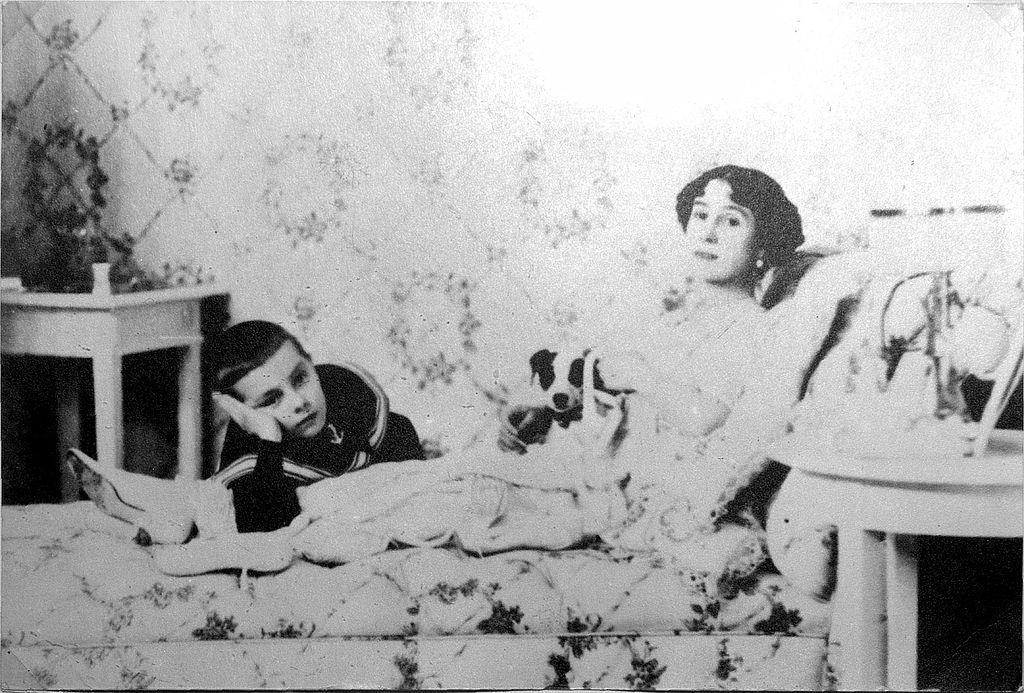 Матильда Феликсовна Кшесинская с сыном. Фото: Wikimedia Commons
